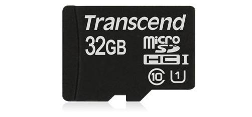 Memory Card MicroSDHC 32GB