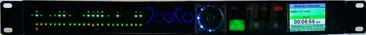 "JoeCo BBR1-US 24-Track Analog ""Blackbox Recorder"" for Live Performance Recording BBR1-US"