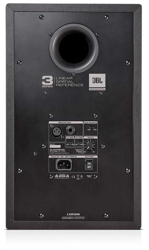 "8"" Two-Way Active Studio Monitor"