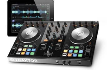 2-Deck DJ Controller with iOS Connectivity