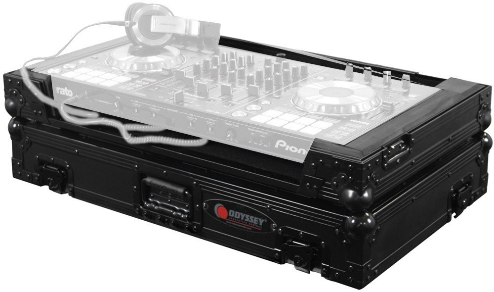 Black Label Flight Zone Series DJ Controller Case for Pioneer DDJ-SX/S1/TI