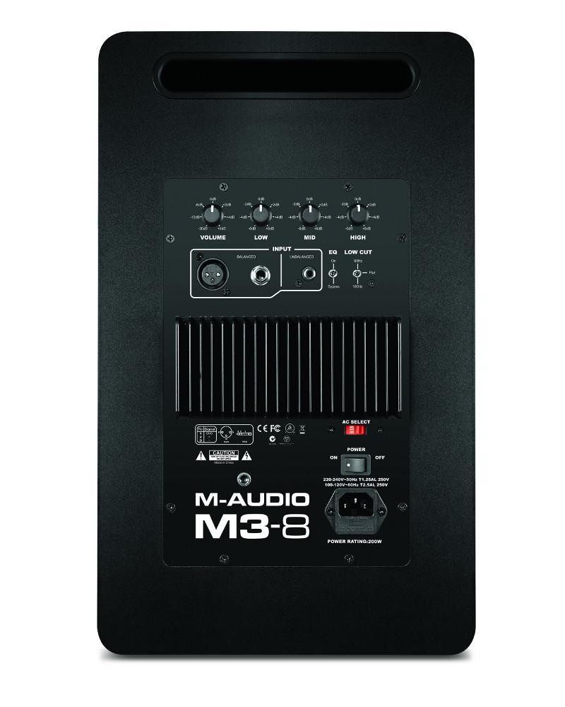 "8"" 3-Way Active Studio Monitor"
