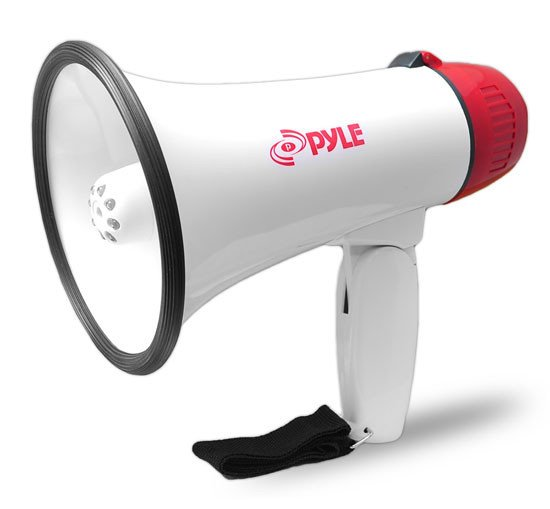 30W Megaphone with Siren & LED Lights