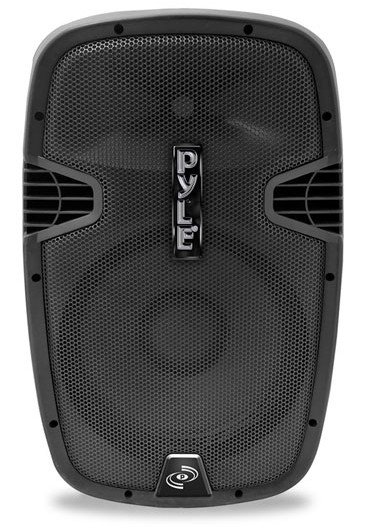 """1,000W 12"""" Portable Active Speaker with 2 Wireless Microphones"""