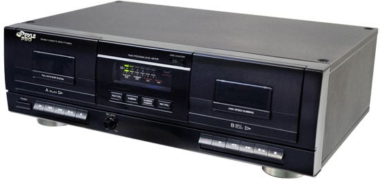 Dual Stereo Cassette Deck with USB