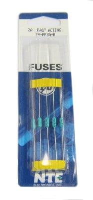 5 Pack 2A 125V Fuses