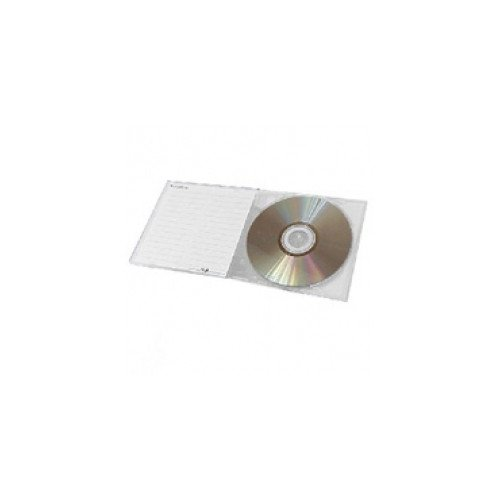 1 Disc 5mm Super Clear Poly Jewel Box with No Overwrap