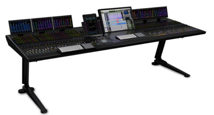 S6 M40 with 32 Faders, 5 Knobs & 4 Display Modules
