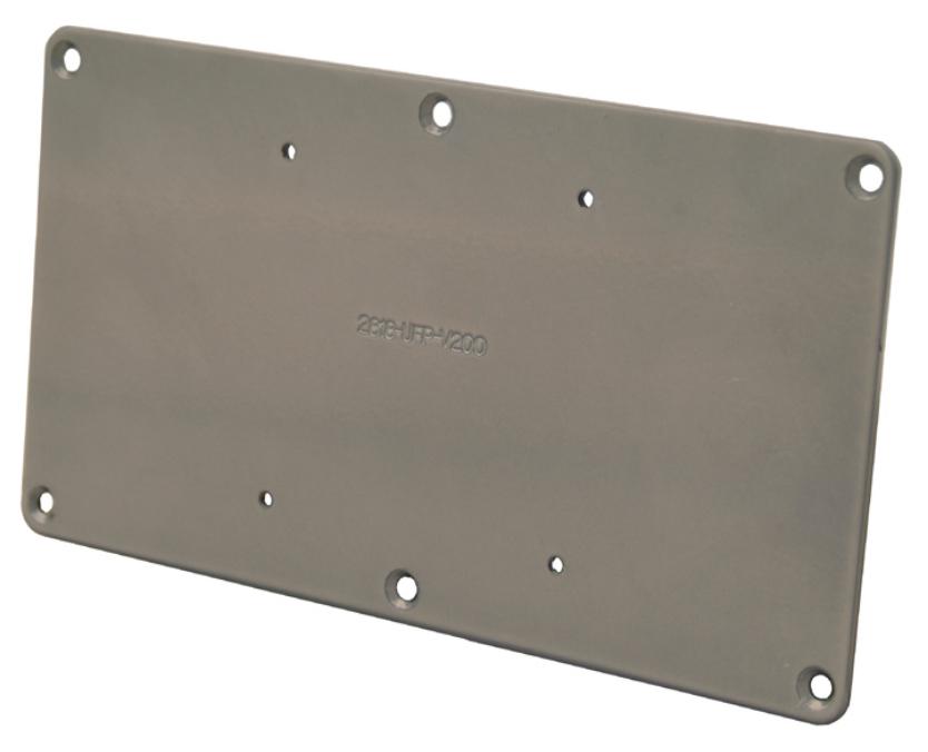 200 x 100mm VESA Adapter Plate for Flat Panel Screens