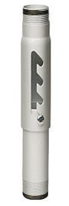 "18"" - 24"" Adjustable Extension Column in White Powder"