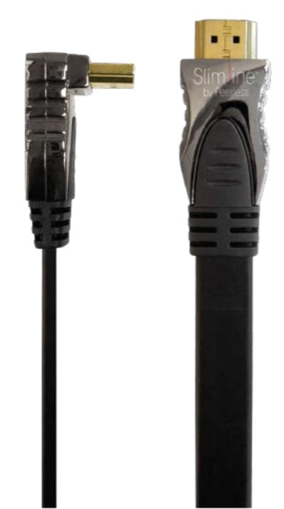 16' High Speed Right Angle HDMI Cable with Ethernet