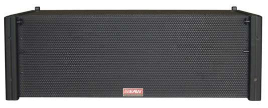700W Portable 3-Way Line Array Speaker in Black