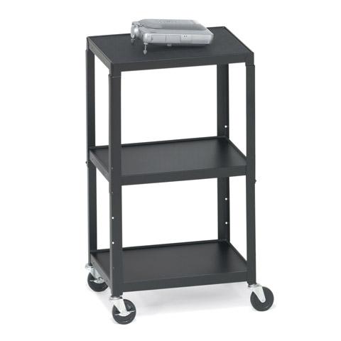 Height-Adjustable AV Cart