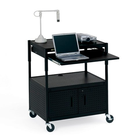 Cabinet Projector Cart with Electrical Unit