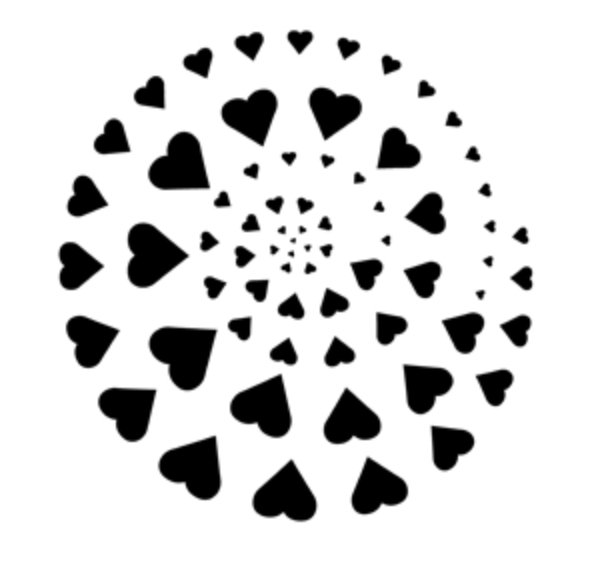 Apollo Design Technology MS-4026 Steel Gobo Circle of Love MS-4026
