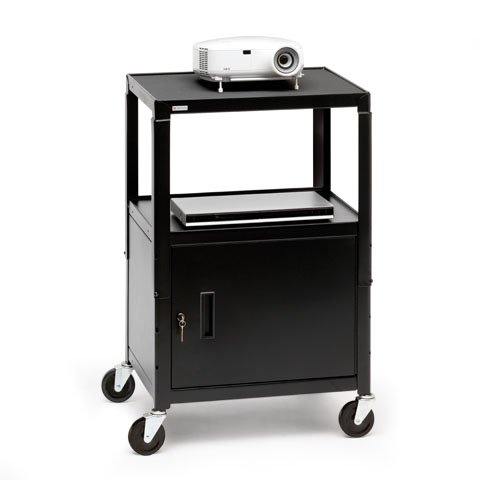 Adjustable Cabinet Cart with Electrical Unit