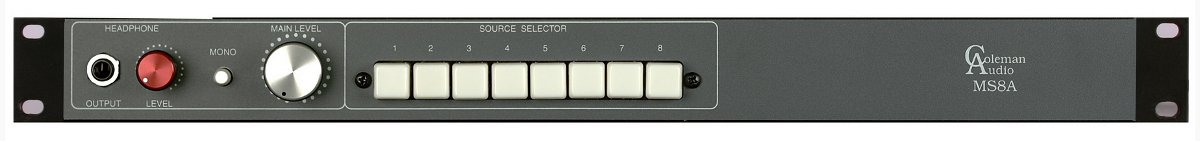 Eight-Input Stereo Monitor Switcher
