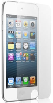 Two Anti-Glare Mylar Screen Protectors for 5th Generation iPod Touch Display