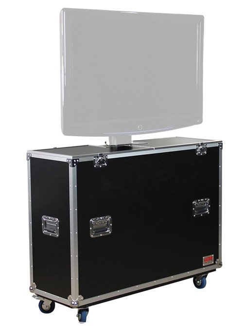 "ATA Flight Case for LCD & Plasma Screen Up To 42"" with Electric Lift and Casters"
