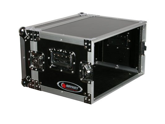 6-Space Deluxe ATA Effects Rack