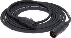 3ft AmeriQuad XLR-F to XLR-M Microphone Cable