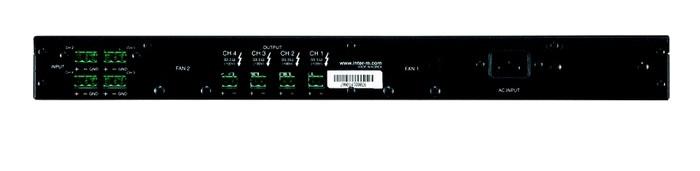 4-Channel 300W Power Amplifier