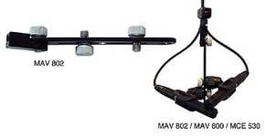 Mic Holder for Stereo XY or ORTF Set-up