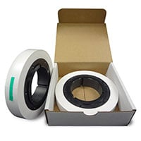 """1"""" x 500 Roll of White Leader Tape in Returnable Box"""