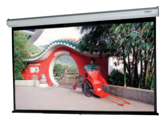 "87"" x 116"" Model C with CSR Heavy Duty Wall or Ceiling Screen"