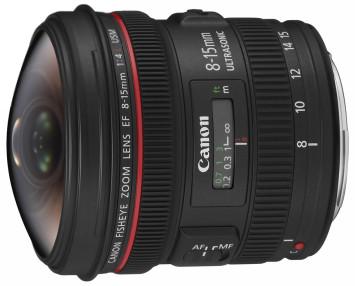 EF 8-15mm f/4L Fisheye USM Lens