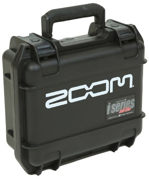 Zoom H6 Recorder Hard Case with Zoom Logo