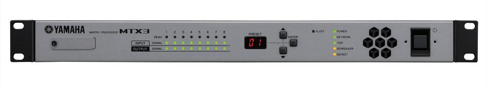 26 x8 Matrix Mixer with Signal Processor