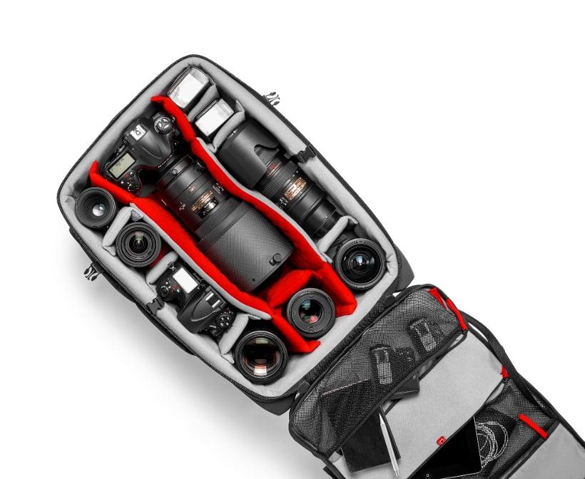 Professional DSLR + Gear Travel Trolley Bag