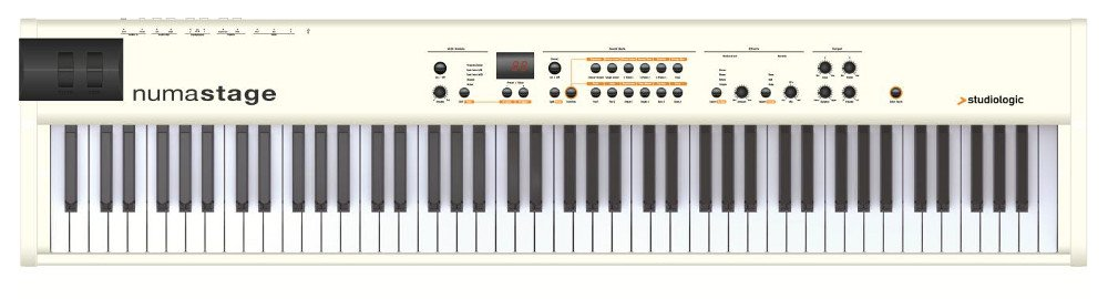 88-Key Digital Piano with Hammer Action