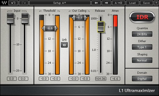 Peak Limiting/Maximizer Plugin