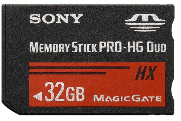 32GB Memory Stick Pro HG Duo HX - No Adapter
