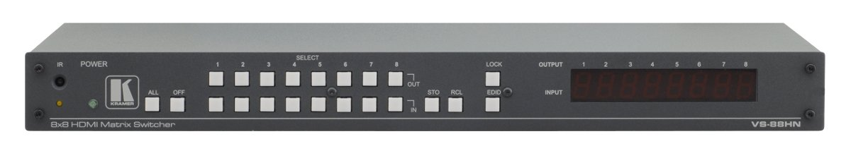 8 x 8 HDMI Matrix Switcher