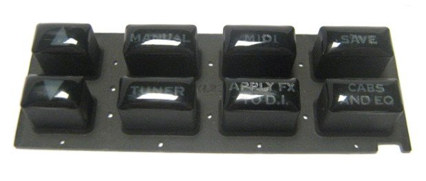 Rubber Keypad For POD PRO