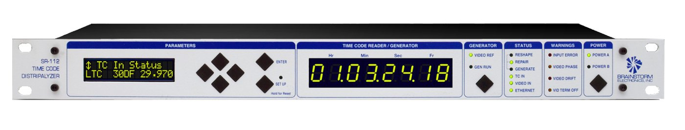 TCG (Time Code Generator) Software Option for the SR-112