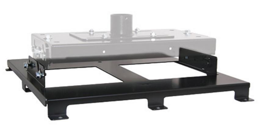 Custom VCM Interface Bracket in Black