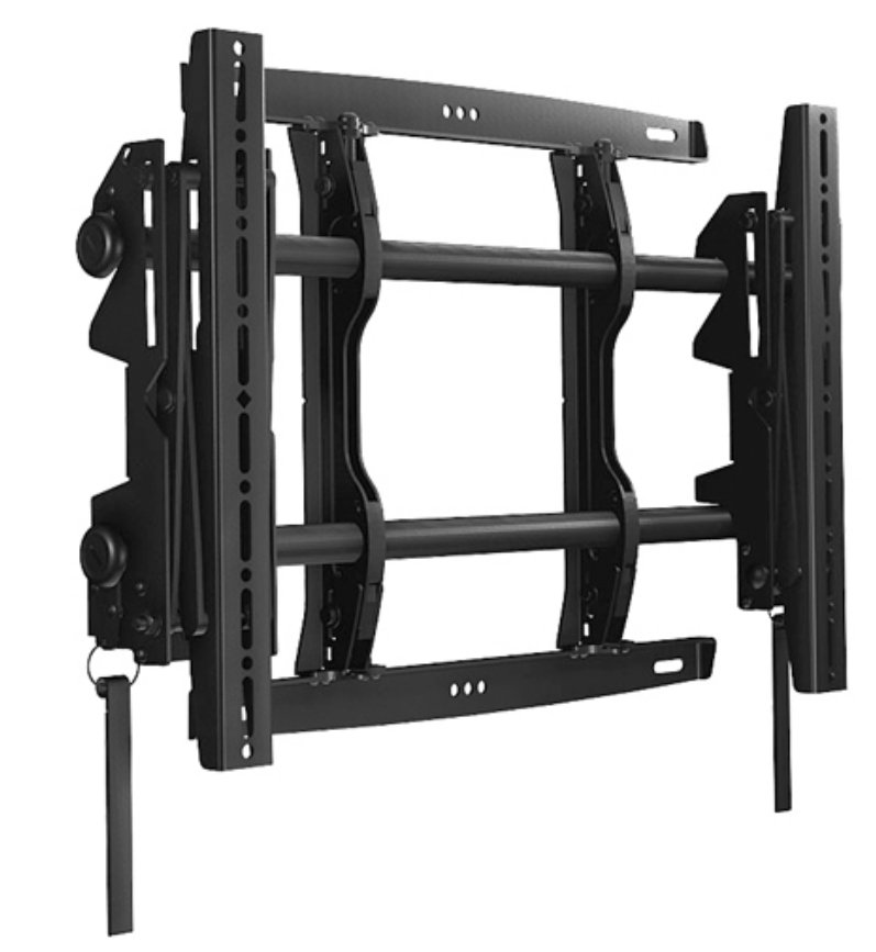 Medium FUSION™ Micro-Adjustable Pull-Out Mount in Black
