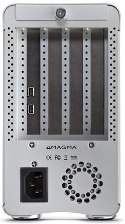 3-Slot Thunderbolt to PCI Express Expansion Chassis