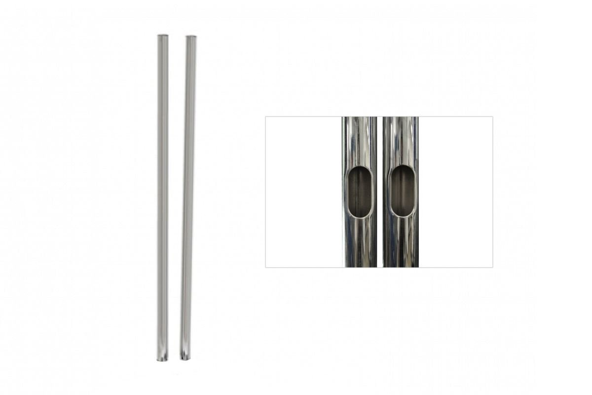 "1 Pair of 60"" H Replacement Chrome Poles for PSD-TS60"