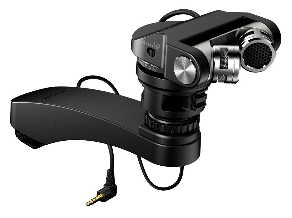 XY Stereo Microphone for DSLR