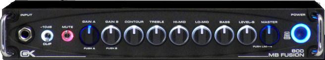 2-Ch 800W Hybrid Bass Amplifier Head