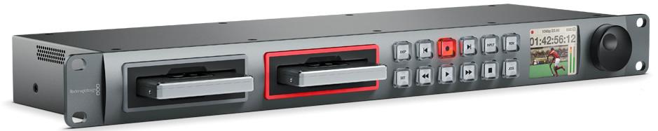 SSD Broadcast Dual Recorder SDI / HDMI Capture / Playback Deck