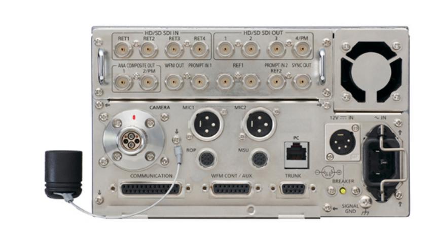 Compact Camera Control Unit for AK-HC3500 Studio Camera