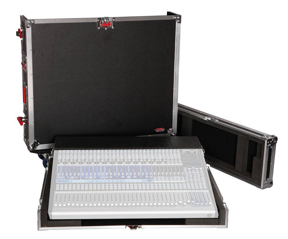 Gator Cases G-TOUR PRE3242AI ATA Wood Flight Case for Presonus StudioLive 32.4.2AI Console with Doghouse G-TOUR-PRE3242AI
