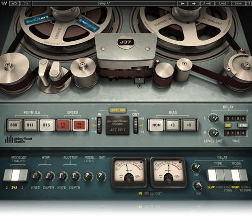 Waves J37 Tape Analog Tape Emulation Plugin J37SG