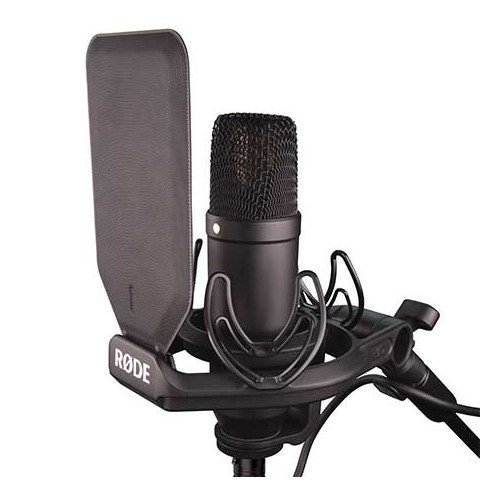 Large Diaphragm Cardioid Condenser Microphone with SMR Shockmount